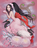 Kuan Yin by Enamorte