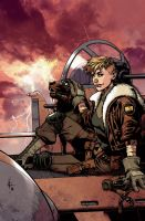 Wild Blue Yonder Cover 3 color by nelsondaniel