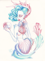 The Pearl of the Mermaid by DibuMadHatter
