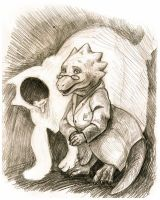 Alphys - UNDERTALE by AlbinaDiamond