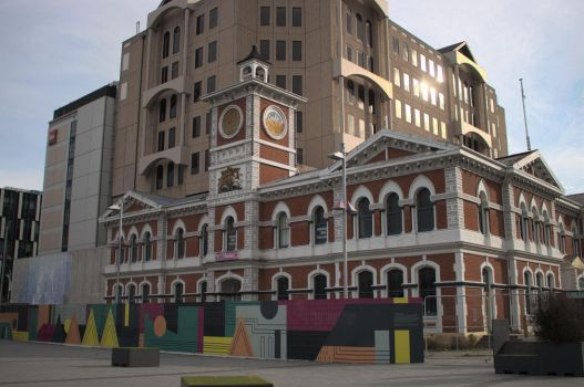 Old Post Office, Chch Square by JerryWestaway