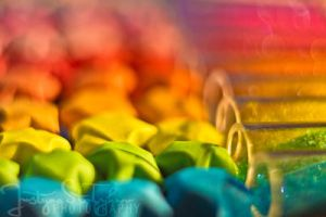 rainbow factory by JustynaStolyhwo