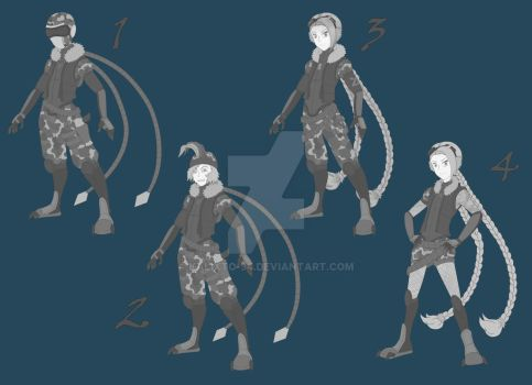 Arctic Ops Jinx Concepts by kalixto-94
