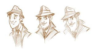 Menwithhats by wabea