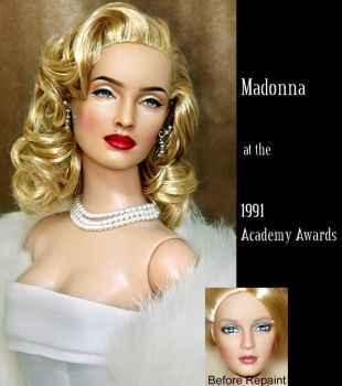 Doll Repaint - Madonna in 1991 by noeling