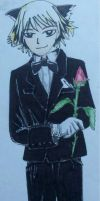 Schrodinger in a tux by Panzer-13