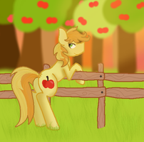 Everypony's gay for Braeburn (Detailed) by KillerCats101