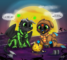 Its Halloween time by SkyKristal