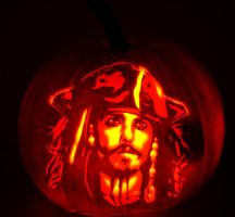Jack Sparrow by pumpkinsbylisa