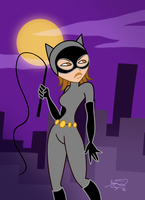 Bonnie as Catwoman by enigmawing