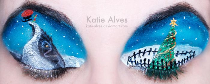 The Grinch Who Stole Christmas Eyes by KatieAlves