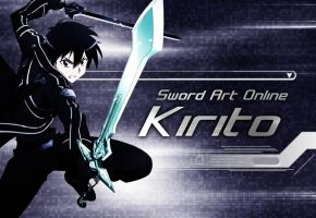 Kirito by CaptainLaser