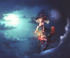 Devil May Cycle by Wernope