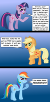 The ponies are not amused by AleximusPrime