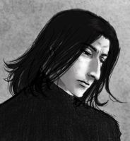 Guess what.. more Snape-art :D by anni-viech