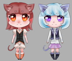 Cute Kitty Adopts Set 2 [POINTS- OPEN] by MikoAdopts