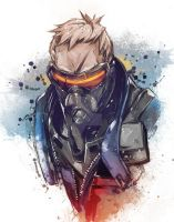 Soldier 76 by VVernacatola