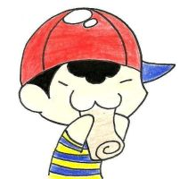Request: Ness Eating A Burito by i-love-shadaze
