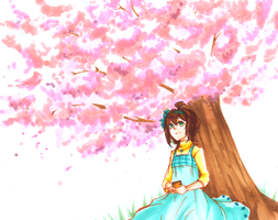 Flower-Viewing by Inami