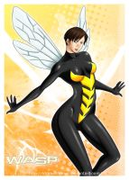 WASP by darkshadowartworks