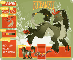 Kebanzu Registration Sheet: Adahy by wolfiebane