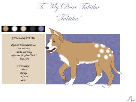 To My Dear Tabitha by casinuba