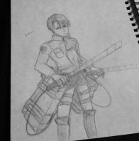 Corporal Levi by JackieWest