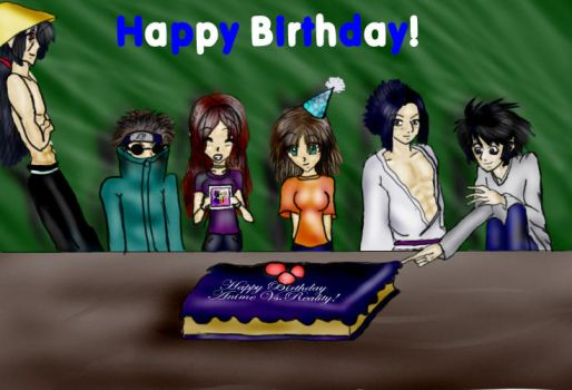 Happy Birthday AvR by Angeldemon45678