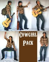 Cowgirl Pack by LongStock