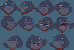 Gantu character head study by filmfreak13