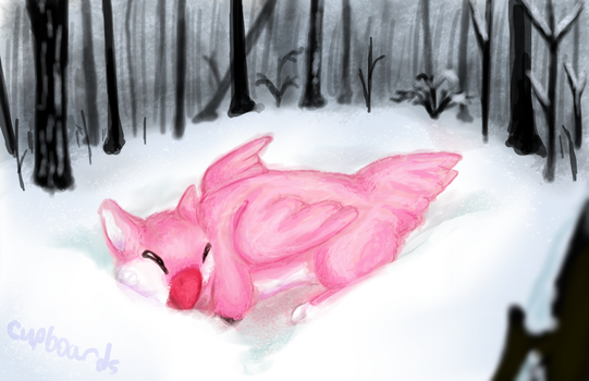 winter lullaby by strazi