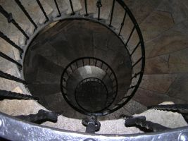 spiral stairs by kashmier