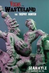 Vixens of the Wasteland:  The Trophy Hunter by seankylestudios