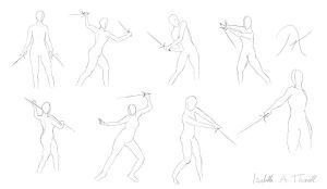 Weapon Stances by Iralen
