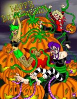 RETROPOST: Happy Halloween by CheshireCaterling