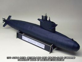 Papercraft Walrus-class submarine release by ninjatoespapercraft