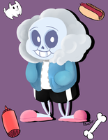 Sans + Speedpaint! by Sierra-G