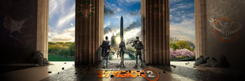 The Division 2 Dualscreen by blackbeast