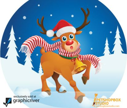 Cute Raindeer by petshop-studio