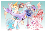 Team pkm Commission by Cipple