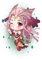 Commission: Anivyl Thilarand from FFXIV by BangLinh1997
