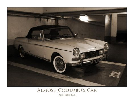almost Columbo's car by Neo3004