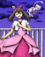 --Pokemon-- Dances with Mews by pdutogepi