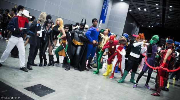 DC Group!! by FuuriZero