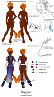 Dhaun'une Character Sheet by Terralynde