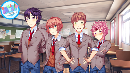 Doki Doki Switcheroo! Final Sprites by MWRoach