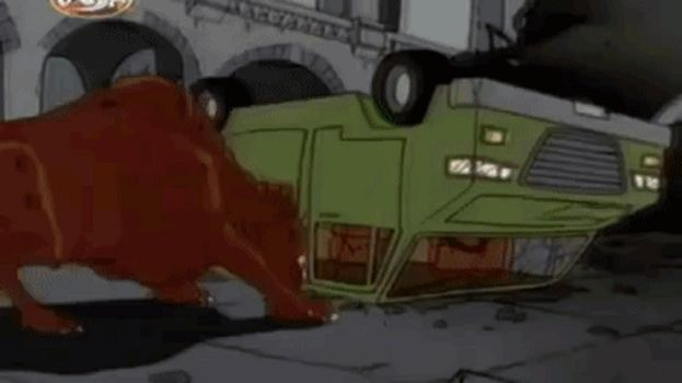 Godzilla The Series: Giant Rat Claws A Door (GIF) by faithslayer202