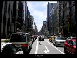 Tokyo life by r3negade