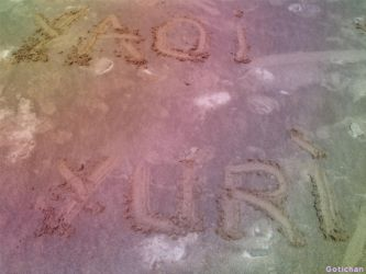 Yaoi and Yuri in the Sand by o0-Gothic-Kitty-0o