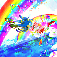 Sonamy - The Colorful World We Live In by koda-soda